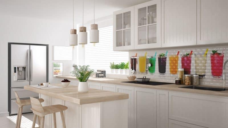So lebendig wird eine Küche mit Fliesen von CERAMIC Art.